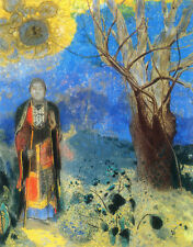 The Buddha    by Odilon Redon   Paper Print Repro