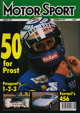 Motor Sport Aug 1993 - Le Mans 24 Hours Peugeot, British Grand Prix Hill, 330 GT