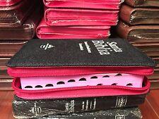 Bíblia Reina Valera Mesclia  Rosa Con Cierre Índice 1960 letra grande 10 PUNTOS