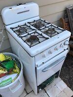 Antique Gaffers & Sattler 4 Burner Stove & Oven