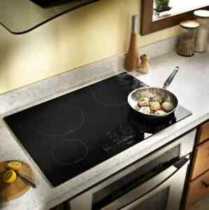 """whirlpool Gold cooktop 30"""" built-in electric induction cooktop black"""