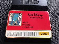 Disney WDI - I.D. ID Badge Series 2007 - Upside Down Stitch Pin LE 300