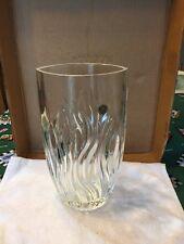 Italian RCR 24% Crystal Glass 11 Inch Vase