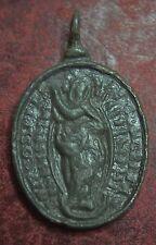 MEDAGLIA DEVOZIONALE  VOTIVA RELIGIOSA  MADONNA pilgrims badge relic reliquia