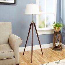 Modern Stylish Home Office Survey Tripod Adjustable Floor Lamp Light w/ Shade
