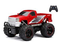 New RC Trucks Silverado New Bright Full Function Radio Control Red