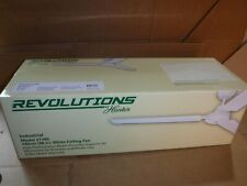 "NEW HUNTER REVOLUTION INDUSTRIAL 21765 WHITE CEILING FAN 56"" SUPERIOR AIR 120V"