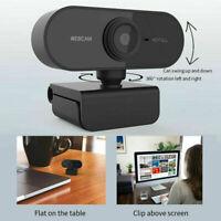 HD 1080P Webcam Autofocus Web C.amera Cam For PC Laptop Desktop with Microphone