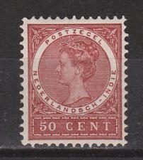 Nederlands Indie Netherlands Indies Indonesie 57 MLH ong Wilhelmina 1903