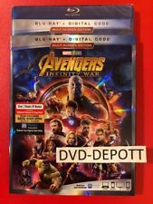 Avengers: Infinity War Blu-ray + Digital HD W/ Slipcover New FAST Free Shipping