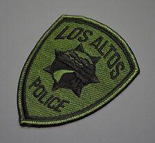 Los Altos California Police SWAT Patch ++ Santa Clara County CA HTF