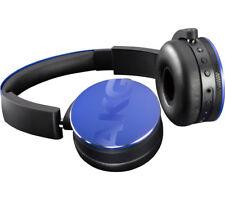 AKG Y50BT Rechargeable Bluetooth Wireless On-ear Headphones - Blue