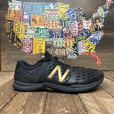 NEW BALANCE Minimus Black Gold Vibram Running Shoes Men's Size 11.5