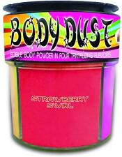Body Dust Flavored Edible Strawberry Honey Cotton Candy Cupcake Powder Adult .30