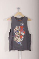 Floral Crew Neck T-Shirts Size Petite for Women