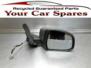 Ford Mondeo Wing Mirror Driver Side Electric Silver 07-10 Mk4