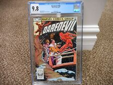 Daredevil 198 cgc 9.8 WHITE pages Marvel 1983 MINT movie TV 1st series HOT