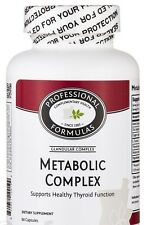 METABOLIC COMPLEX HEALTHY THYROID GLANDULAR SUPPLEMENT PROFESSIONAL FORMULAS