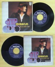 LP 45 7'' ANITA GARBO Miracles Do it with me 1977 italy PHILIPS no cd mc dvd vhs