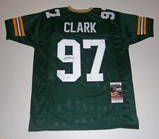 PACKERS Kenny Clark signed custom green jersey w/ #97 JSA COA AUTO Autographed