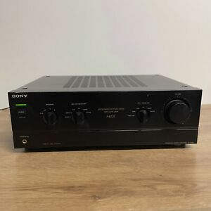Sony TA-F442E Integrated Stereo AmplifierSpontaneous Twin Drive MADE IN JAPAN