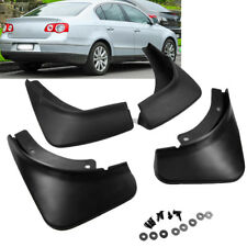 Black Mud Flaps Splash Guards For VW Passat B6 3C Sedan 2006 2007 2008 2009 2010