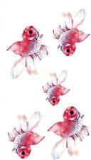 Flash Einmal Temporary Klebe Tattoo Goldfisch Fisch Körper Party Geschenk WOW