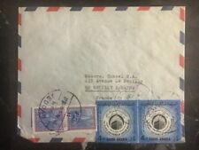 1970 Jeddah Saudi Arabia Airmail Commercial cover to France