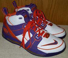 Nike Air Total Force Max Wht/Purple/Org Phoenix Suns Sz 13 DS EUC Kobe Zoom