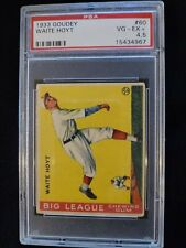 1933 Goudey Waite Hoyt #60 HOF PSA 4.5  VG-EX+ Check out my other listings!
