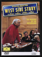 DVD Leonard Bernstein – West Side Story (The Making Of The Recording) 2001