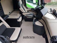 Fussmatten Set Lkw Mercedes Actros MP4 Solostar Farbe nach Wahl Kunstleder