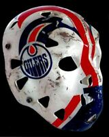 Goalie Mask of Grant Fuhr Edmonton Oilers 8x10 Photo