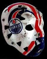 Goalie Mask of Grant Fuhr Edmonton Oilers 8x10 Photo