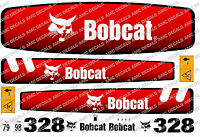 BOBCAT 328 MINI DIGGER DECAL SET