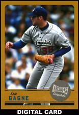 Topps BUNT Eric Gagne GOLD Base ARCHIVES SNAPSHOTS [DIGITAL CARD] 75cc