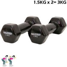 Manubri nero per body building 15kg