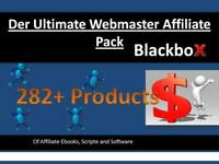 Affiliate Pack 282+ Produkte/ Ebooks/ Software MMR/PLR Konvolut