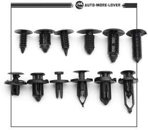 Fit For Toyota Honda GM Ford Automotive 192 Clips Push Pin Retainer Assortment