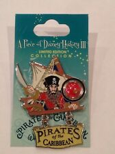 DISNEY WORLD~Pirates of the Caribbean Piece Of History Trading Dangle Pin~NEW