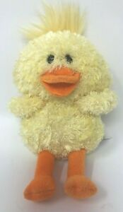 "Gund Duck Plush Hoppy Days Quacklin  6"" Stuffed Animal Toy Yellow #320506 Easter"