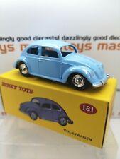 Atlas Editions (Mattel Norev) Dinky No.181 VW Volkswagen Beetle. MIB