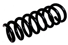 BMW X5 E70 With Sports Suspension Front Coil Spring 2007-2013