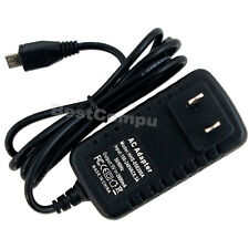 2A AC DC Adapter Charger for Ematic 7 EGQ307 Genesis Prime EGS004 Tablet Power
