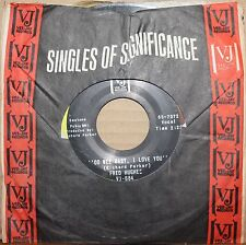 FRED HUGHES Oo Wee Baby, I Love You LOVE ME BABY Northern Soul 45 on VEE-JAY 684