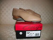 Capezio TeleTone Split Sole Tap Shoe CG06 Adult Tan Black New In Box