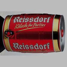 2 Fässer a 5 Liter Reissdorf Kölsch Dose Bier Orginal Partyfass Partydose