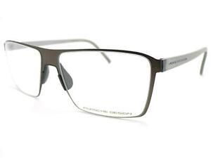 PORSCHE DESIGN Glasses Frame Dark Brown/ Crystal Grey 54mm Spectacles P8309 A