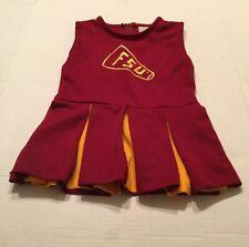 Florida State Seminoles FSU Girl's Cheerleading Outfit Dress Size 4 NCAA