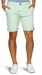 Quiksilver The Krest Summer Chino Men's Herren Shorts Aqua 30 KRMWK073-CHN-30